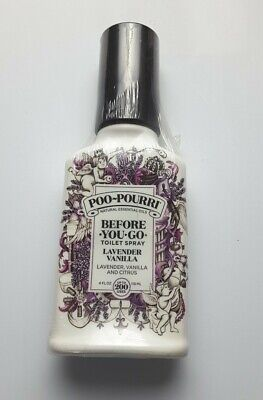 Poo-Pourri Before-You-Go Toilet Spray LAVENDER VANILLA CITRUS 4 oz/118ml