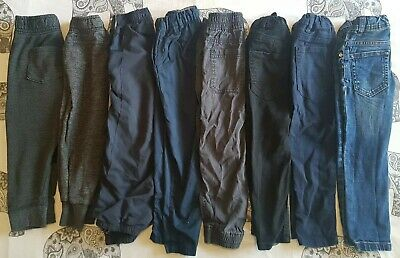 Boys Joggers Skinny Jeans Trousers Bundle Age 3-4 Next H&M Primark  Etc