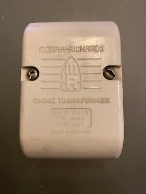 Vintage Morphy Richards Chime Transformer, Collectible Antique