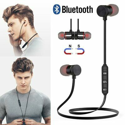Magnet Wireless In-Ear Sports Earphone Headset Headphone For iPhone Samsung
