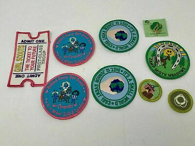 Girl Scout=S/'mores=Camp//Cook Out=Fun Patches//Badges=$1.95 Ship