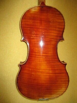 Rare Old Antique 20s German Master W K Fuchs 4/4 Violin-A Cannon Of Warm Butter!