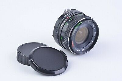 EXC++ ALBINAR 28mm f2.8 1:4 MACRO MF LENS FOR NIKON AI MOUNT, CLEAN, CAPS