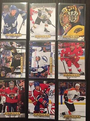 2019-20 upper deck series 2 canvas you pick