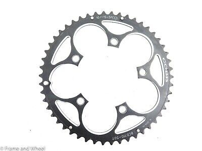 IRD Defiant 50T 110BCD Touring Bike Chainring 5 bolt Gravel Cyclocross Charity!