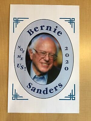 Nice Bernie Sanders Poster From The 2020 Iowa Caucus Campaign