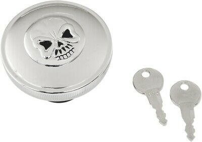Harley Chrome Screw-In Gas Cap for L96-12 Models Non Vented DS-390282