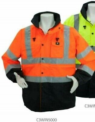 Britesafety 6 XL high visibility raincoat