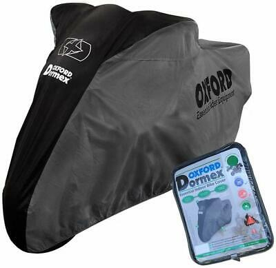Trumph Trophy 900 Oxford torcycle Cover Breathable Water Resstant Black Grey