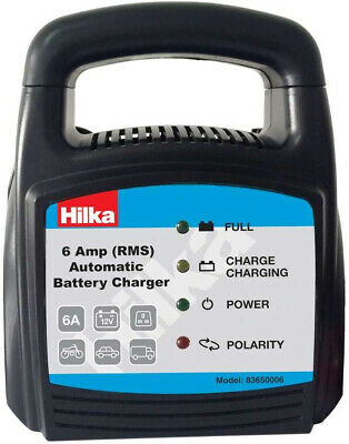 Hlka 83650006 6 Amp Automatc Battery Charger