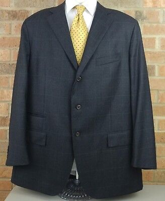 POLO Ralph Lauren Made in Italy 46L 3 Button Cashmere Blend Blazer Jacket