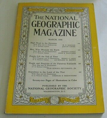 National Geographic Magazine - March 1956