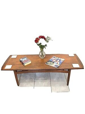 G Plan E Gomme Mid Century Teak Rectangular Coffee Table
