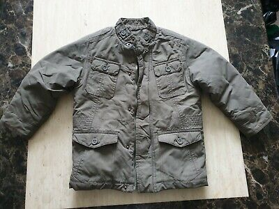 boys MARKS AND SPENCER quilted padded jacket coat age 4-5 years