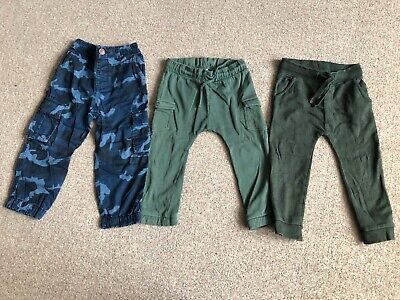 Boys Trousers/ Joggers Bundle 2-3 Years  Next H&M