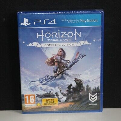 Horizon Zero Dawn - Complete Edition - Sony Playstation 4 Ps4 Game - New