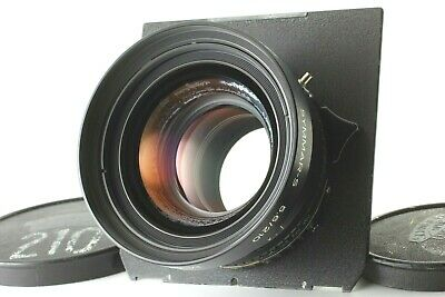 【Exc+4】Schneider Symmar S MC 210mm f/5.6 Lens and Copal 1 Shutter from JAPAN