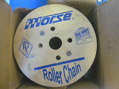 NOS Morse Roller Chain 127720 50R 100ft