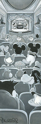 Disney Fine Art A NIGHT AT THE THEATRE By Michelle St. Laurent Giclée on Canvas
