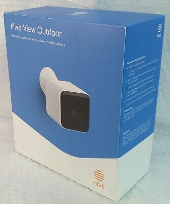 White HIVE VIEW OUTDOOR Smart 1080p HD motion detection night vision camera