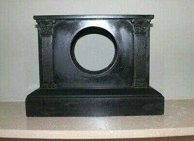 French Slate / Marble Mantle Clock Case Spares Repairs c1880