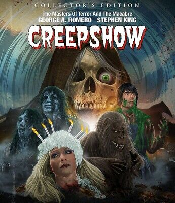 Creepshow BLU-RAY 2018 BRAND NEW FAST SHIPPING