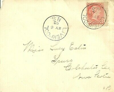Canada, Cover. #41 with Liverpool, NS, Beauty CDS postmark dated MY-6-92. F-VF.