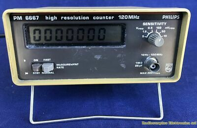 High Resolution Counter PHILIPS PM 6667