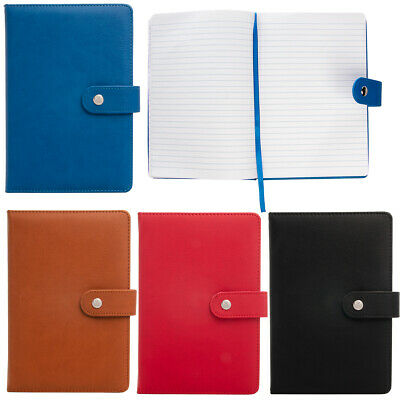 Greatworks Padded Leatherette Journal Ribbon Notebook Lined Pages Magnetic Clasp