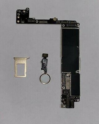 iPhone 7 Plus Gold A1784 128GB GSM Unlocked Logic Board with Touch ID - NO IC