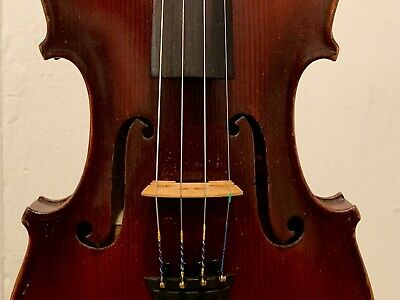 Antique Wurlitzer Conservatory Violin c.1898 Restored with Strong Tone