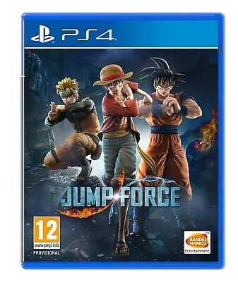 JUMP FORCE PLAYSTATION 4 PS4 (Barely Played)