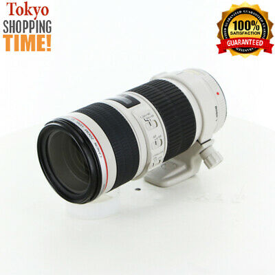 Canon EF 70-200mm F/4 L IS USM with Tripod Mount Lens from Japan