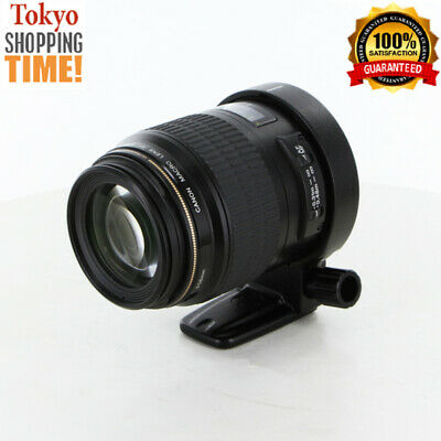 Canon EF 100mm F/2.8 USM Macro with Tripod Mount Lens from Japan