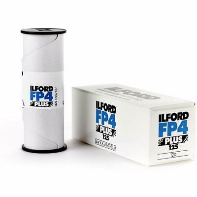 Ilford FP4+ 120 Black and Whte Roll Flm