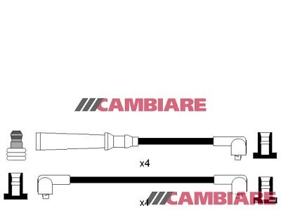 HT Leads Ignition Cables Set VE522430 Cambiare 9337346 Top Quality Replacement