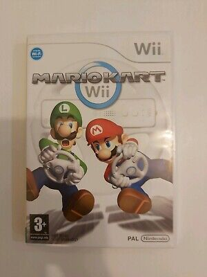 Nintendo wii mario kart Case and manual no disc