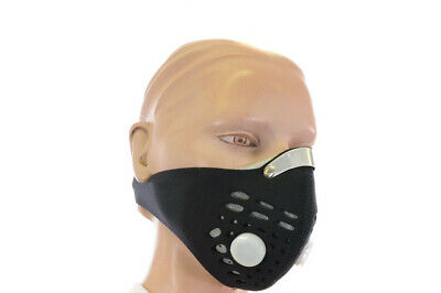 Activated Carbon Filter Anti Virus Face Mask  / Anti Pollution Cycling Mask