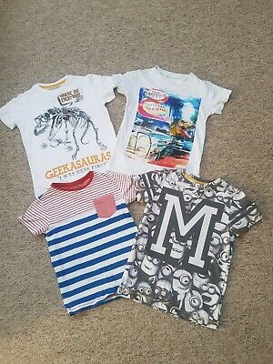 Boys T-shirt Bundle From Next.age 6 Year's.excellent Condition.hardly Worn