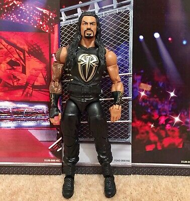 WWE Mattel action figure ELITE PLAY BIG DOG ROMAN REIGNS GOLD Vest toy Wrestling