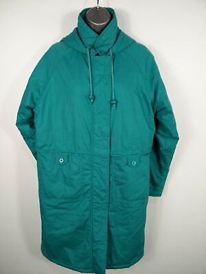 Girls George At Asda Turquoise Long Padded Parka Style Coat Jacket Age 13 Years