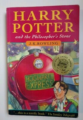 FIRST EDITION WAND ERROR Harry Potter & the Philosopher's Stone 23rd Print 1997