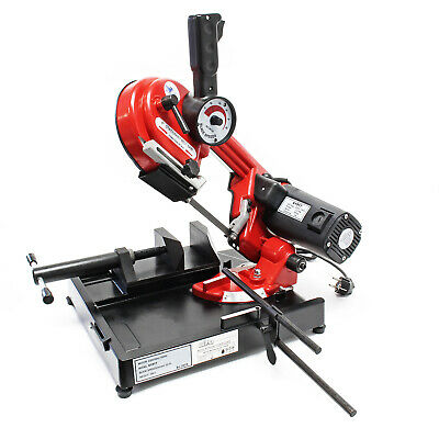 Mobile Metal Band Saw 1500W 20-70m/min 105mm Cutting Depth Continuously Variable
