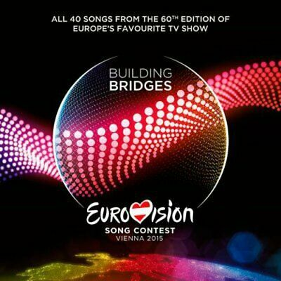 Various - Eurovision Song Contest Vienna 2015 (2015)  2CD  NEW  *See Details*