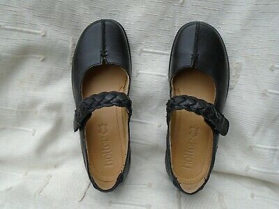 Brand New Uk 3, Eu 36 Young Girls Hotter Shake Black Leather Shoes