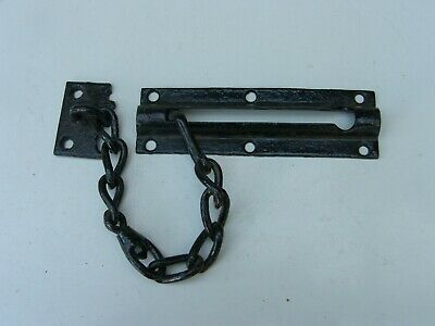 Reclaimed Damaged Door Safety Chain Very Heavy Cast Iron