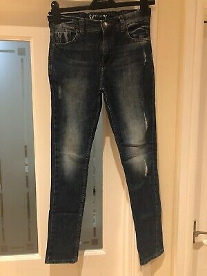 Next Boys Blue Skinny Jeans Age 12 Years