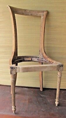 French Chair Antique Louis XIV  XIIII  Period Appears authentic.