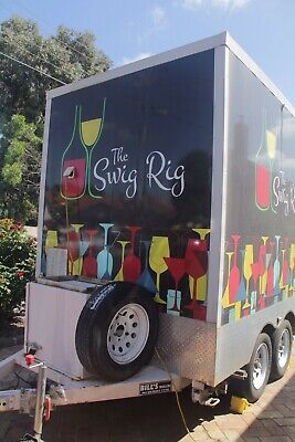 Food Trailer/Mobile Bar (Remote Controlled Movers)