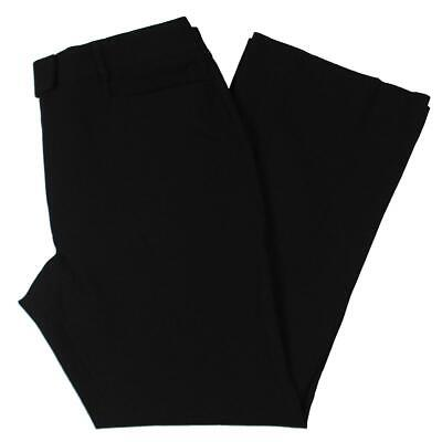 Tahari ASL Womens Black Office Wear Business Dress Pants Trousers 14 BHFO 5961